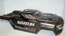 Arrma KRATON EXB 6S BLX Painted Decaled Trimmed Body Black ARA406159