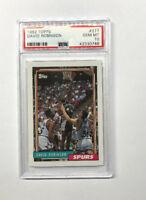 1992-93 Topps #277 David Robinson San Antonio Spurs PSA  GEM MT 10