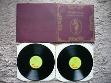 Jethro Tull Living In The Past Vinyl UK 1972 Softback Cover A1B1A1B1 Porkie EXC