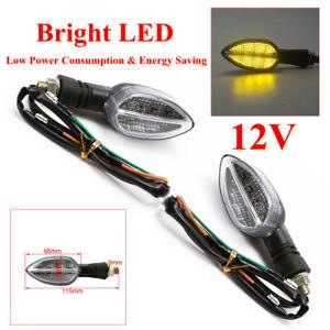 Motorcycle Turn Lighting Bright LED Light Driving Fog Lamp ABS 12V Energy Saving