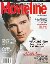 Josh Hartnett--Pearl Harbor--2001 Movieline Magazine