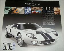 2003 Ford GT 40 Concept car print