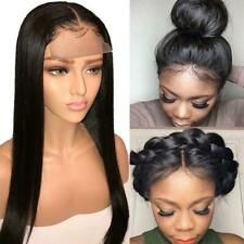 Brazilian Wig 4 * 4 Straight Lace Closure Wig Lace Front Human Hair Lace Wig