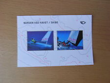 Denmark stamp MNH souvenir sheet 2014 'North by the Sea/ships'