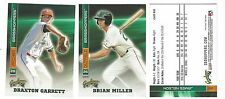 COMPLETE 2017 GREENSBORO GRASSHOPPERS TEAM SET MINOR LGE - LOW A MIAMI MARLINS