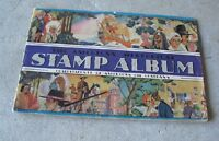 Vintage 1937 Booklet - AMOCO Gas Stamp Album Complete with Stamps