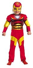 Superhero Squad Iron Man Toddler Costume Marvel Comics Size 2T - 11765