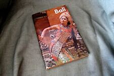 """Vintage Book Bali: """"The Morning of the World"""" Travel Tourism Indonesia Hughes"""