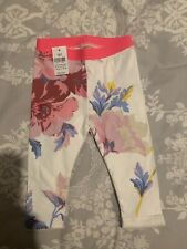 Baby girl Gap leggings 6-12 Months Floral BNWT