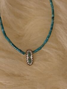 Pascale Monvoisin 9k Yellow Gold Turquoise Long Necklace Net A Porter