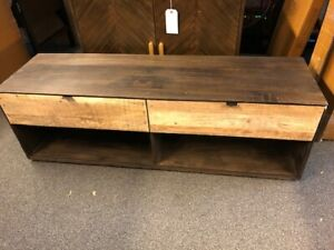 Rockett St George - Industrial Style Mango Wood TV Cabinet - RSG536