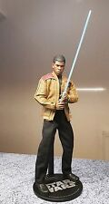 1/6 scale Star Wars : The Force Awakens Finn custom 12 inch figure + Lightsaber