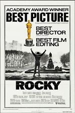 ROCKY (1976) LIKE NEW, GORGEOUS COLOR, 35MM TRAILER. ENGLISH LANG.