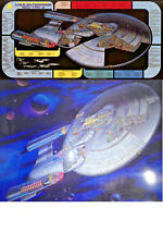 Original 1990s Star Trek Next Gen Enterprise D Cutaway Posters- Your Choice