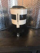Starbucks Alice & Olivia Ceramic Travel Mug w/ Lid Tuxedo & TuTu 2013 Rare.