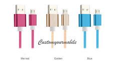 Original Cable MICRO USB 1,5METRE Nylon Tressé 3A Quality Pour Samsung HTC LG ++