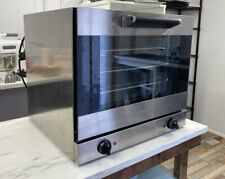 More details for smeg commercial electric convention oven 57 litre alfa43xuk 13amp oven trays