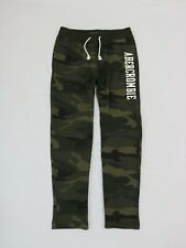 Abercrombie & Fitch Men fleece logo sweatpants size Small new with tags
