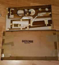 Vintage 1970's Chevy Van Wood Dash Trim Kit Castlewood Designs custom 1980's