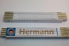 Zollstock mit Namen     HERMANN   Lasergravur 2 Meter Handwerkerqualität
