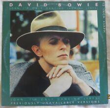 """David Bowie x 3 12"""" 45's"""