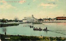 Hillside Amusement Park, Roller Coaster, Belleville, New Jersey NJ  1915