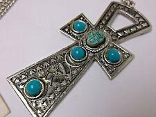 Vintage Egyptian Ankh Pendant Made in Egypt