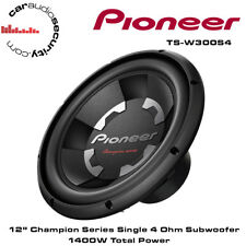 """Pioneer TS-W300S4 12"""" Champion Série Voiture BASS SUB SUBWOOFER 1400 W BRAND NEW"""