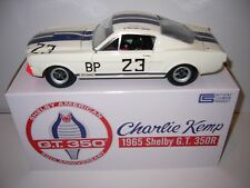 """Shelby GT350 1965 """"Charlie Kemp"""" Signed, Acme/GMP A1801812CS 1/18th scale"""