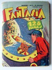 BD MENSUEL FANTASIA N° 10 FEVRIER 1958