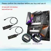 Multi 10 RGB Sync HUB Motherboard RGB Extension Cable Splitter for GIGABYTE AURA