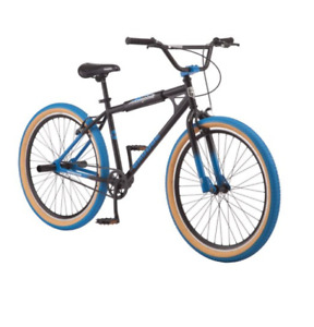 Mongoose Grudge BMX Freestyle Bike Single Speed 26 Inch Wheels Mens Black