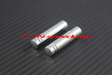 For 04~16 Mercedes SLK 55 AMG 350 Roadster Chrome Metal 2-Door Lock Knob Pins