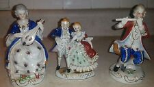 Occupied Japan Figurines Late 1940's Porcelain
