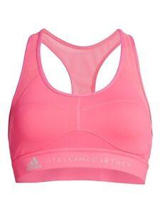 M adidas by Stella McCartney Performance Training Mesh Back Sports Bra NWT Pink
