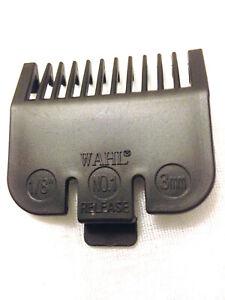 WAHL CLIPPER ATTACHMENT GRADE 1- BLACK (3mm)