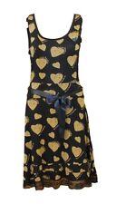 DESIGUAL Gran Vestido Talla S= DE 34/36 Modelo Chaleco Mamita Azul en azul beige