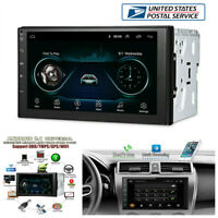 "7"" 2Din Android 8.1 Car WiFi Radio Stereo GPS Navigation Multimedia Player -USA"
