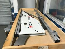 New listing Striebig wsg angle cutting attachment for striebig vertical panel saws.