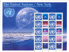 United Nations UN 2006 S15 #929 Japan's Accession to UN Personalized Sheet