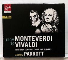 ANDREW PARROT From Monteverdi to Vivaldi VIRGIN CLASSICS 5xCDs NM