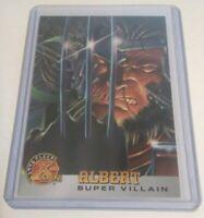 1995 ALBERT X-Men Super Villain, Marvel Comics Trading Card #58 [9.8 NM+] Fleer