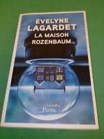 La maison Rozenbaum - Evelyne Lagardet - Plon