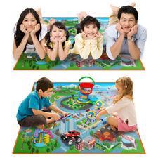 Kids Toddler Play Crawl Mat Carpet Educational Traffic Map Playmat Picnic Rug
