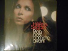 "helene segara ""rien n est comme avant"" cd single promo radio rare"