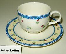 Villeroy & Boch Adeline Kaffeetasse mit Untertasse Ø 8 / H 6,2 / UT Ø 15 Tasse