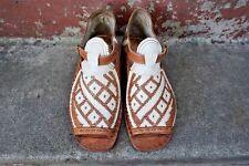 OSCARIA CON CORDONES DIAGONALES Y ROMBOS  mexican sandals