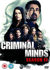 CRIMINAL MINDS COMPLETE SEASON 12 DVD twelth Series Shemar Moore New Sealed R2