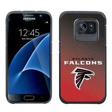 Samsung Galaxy S7 ONLY Atlanta Falcons Gradient Pebble Grain Feel 2 Layer Case