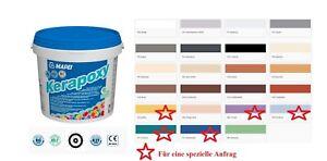 MAPEI Kerapoxy alle Farbe 2/5KG Epoxidharzklebstoff für Wand Boden Fugenmörtel